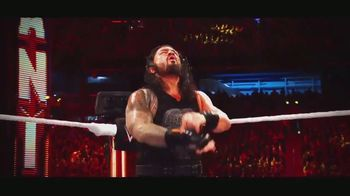 WWE Shop TV Spot, 'Make an Entrance: 30 Percent Off Order & 20 Percent Off Titles' Featuring Roman Reigns