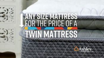 Ashley HomeStore Lowest Prices of the Year Sale TV Spot, 'Any Mattress for Twin Price' Song by Midnight Riot - Thumbnail 3