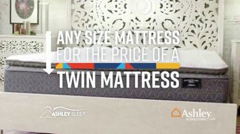 Ashley HomeStore Lowest Prices of the Year Sale TV Spot, 'Any Mattress for Twin Price' Song by Midnight Riot - Thumbnail 4