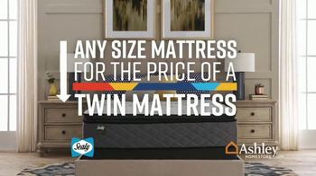 Ashley HomeStore Lowest Prices of the Year Sale TV Spot, 'Any Mattress for Twin Price' Song by Midnight Riot - Thumbnail 5