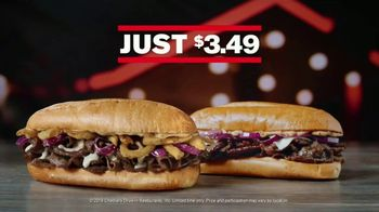 Checkers & Rally's TV Spot, 'Steak Subs and Wicked Strawberry Cones: $3.49' - Thumbnail 5