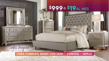 Rooms to Go TV Spot, 'Ofertas candentes: cama completa de Sofía Vergara' [Spanish] - Thumbnail 4