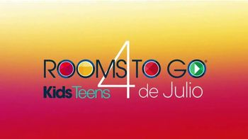 Rooms to Go Kids & Teens TV Spot, 'Ofertas candentes: cama completa con librero' [Spanish] - Thumbnail 2
