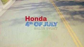 Honda 4th of July Sale TV Spot, 'However You Summer' [T2] - Thumbnail 7