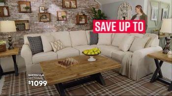 Ashley HomeStore Stars & Stripes Event TV Spot, 'Living Room, Dining Room & Bedroom Sets' Song by Midnight Riot - Thumbnail 4