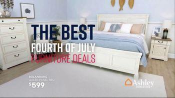 Ashley HomeStore Stars & Stripes Event TV Spot, 'Living Room, Dining Room & Bedroom Sets' Song by Midnight Riot - Thumbnail 8