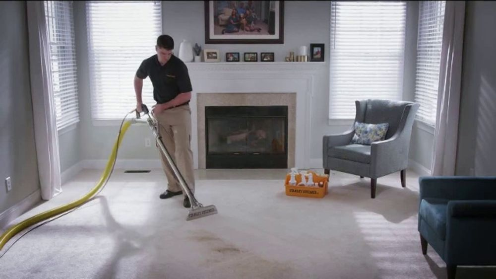 Stanley Steemer 3 Room Carpet Cleaning Special Tv