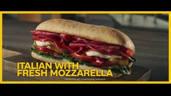 Subway Ciabatta Collection TV Spot, 'Sandwich Reveal Party'' - Thumbnail 7