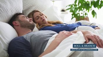 Boll & Branch Stars & Stripes Sale TV Spot, 'Best Sleep Possible' - Thumbnail 2