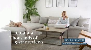 Boll & Branch Stars & Stripes Sale TV Spot, 'Best Sleep Possible' - Thumbnail 5