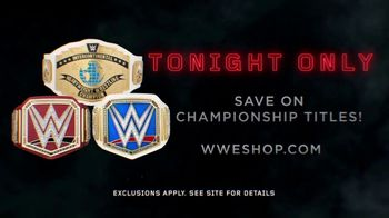 WWE Shop TV Spot, 'Inspired by Millions: Championship Title Belts' - Thumbnail 9