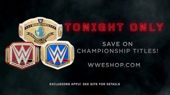 WWE Shop TV Spot, 'Inspired by Millions: Championship Title Belts' - Thumbnail 8