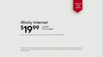 XFINITY Mobile TV Spot, 'A Little Bird Told Me: $19.99 Internet' Featuring Amy Poehler - Thumbnail 9