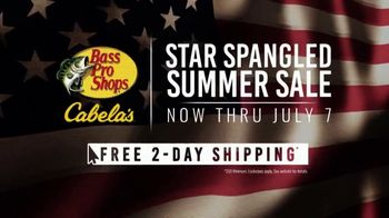 Bass Pro Shops Star Spangled Summer Sale TV Spot, 'Flag Chairs and Tailgate Toss' - Thumbnail 8
