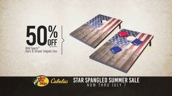 Bass Pro Shops Star Spangled Summer Sale TV Spot, 'Flag Chairs and Tailgate Toss' - Thumbnail 6