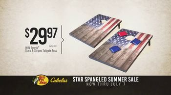 Bass Pro Shops Star Spangled Summer Sale TV Spot, 'Flag Chairs and Tailgate Toss' - Thumbnail 7