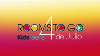 Rooms to Go Kids & Teens TV Spot, 'Ofertas candentes: cama completa gemela con panel' [Spanish] - Thumbnail 1