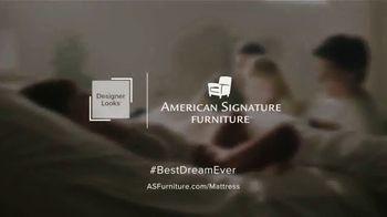 American Signature Furniture 4th of July Sale TV Spot, 'Dream Mattress Studio: Special Financing' - Thumbnail 7