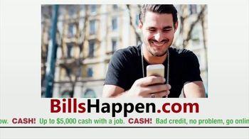 BillsHappen.com TV Spot, 'Remember: Extra Cash Fast'
