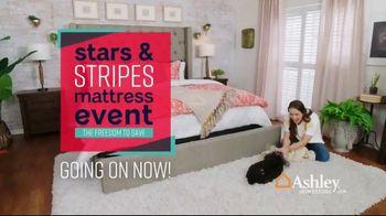 Ashley HomeStore Stars & Stripes Mattress Event TV Spot, 'Adjustable Sets & Ashley Cash' Song by Midnight Riot - Thumbnail 2