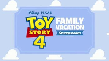 Clorox Toy Story 4: Family Vacation Sweepstakes TV Spot, 'Pack Your Bags' - Thumbnail 1