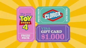 Clorox Toy Story 4: Family Vacation Sweepstakes TV Spot, 'Pack Your Bags' - Thumbnail 5