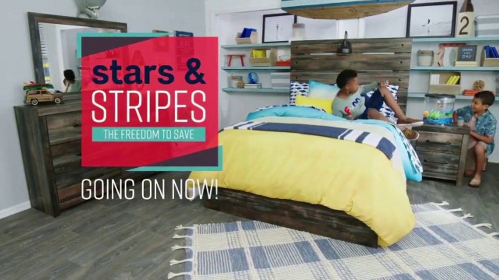 Ashley Homestore Stars Amp Stripes Event Tv Commercial The Best Furniture Deals Song By