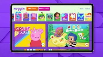Noggin TV Spot, 'Learn With Their Favorite Characters'
