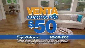 Empire Today Venta Cuartos por $50 Dólares TV Spot, 'Actualize sus pisos' [Spanish] - Thumbnail 2
