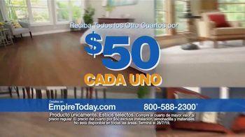 Empire Today Venta Cuartos por $50 Dólares TV Spot, 'Actualize sus pisos' [Spanish] - Thumbnail 3