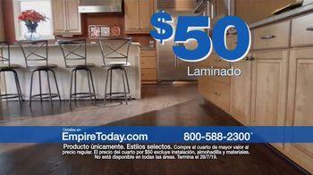 Empire Today Venta Cuartos por $50 Dólares TV Spot, 'Actualize sus pisos' [Spanish] - Thumbnail 4