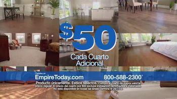 Empire Today Venta Cuartos por $50 Dólares TV Spot, 'Actualize sus pisos' [Spanish] - Thumbnail 7
