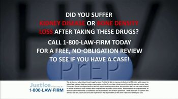 1-800-LAW-FIRM TV Spot, 'PrEP Side Effects' - Thumbnail 3