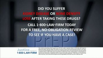 1-800-LAW-FIRM TV Spot, 'PrEP Side Effects' - Thumbnail 4