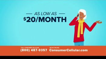 Consumer Cellular TV Spot, 'Better Value: Fishing: Grillin' Up $20 Credit: Plans $20+ a Month' - Thumbnail 3