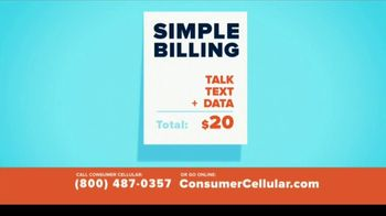 Consumer Cellular TV Spot, 'Better Value: Fishing: Grillin' Up $20 Credit: Plans $20+ a Month' - Thumbnail 7