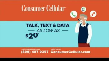 Consumer Cellular TV Spot, 'Better Value: Fishing: Grillin' Up $20 Credit: Plans $20+ a Month' - Thumbnail 9