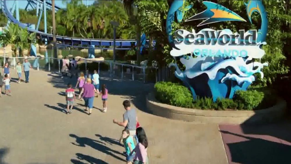 SeaWorld 4th of July Sale TV Commercial, 'Infinity Falls'