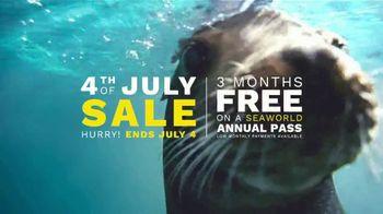 SeaWorld 4th of July Sale TV Spot, 'Infinity Falls' - Thumbnail 8