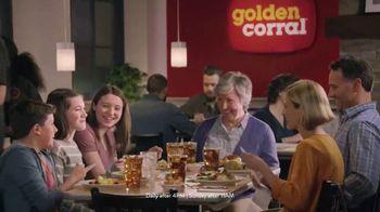 Golden Corral Slow-Smoked Sirloin + Shrimp Trio TV Spot, 'Happy as Shrimp'
