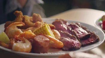 Golden Corral Slow-Smoked Sirloin + Shrimp Trio TV Spot, 'Happy as Shrimp' - Thumbnail 7
