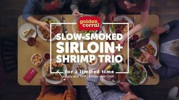Golden Corral Slow-Smoked Sirloin + Shrimp Trio TV Spot, 'Happy as Shrimp' - Thumbnail 8