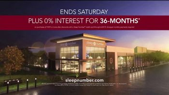 Sleep Number Lowest Prices of the Season TV Spot, 'Hit the Ground Running: Interest Free' - Thumbnail 9