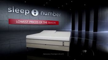 Sleep Number Lowest Prices of the Season TV Spot, 'Hit the Ground Running: Interest Free'