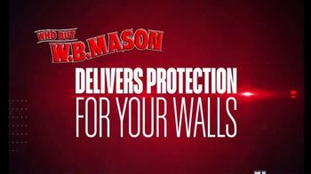 W.B. Mason TV Spot, 'Players of the Week: Protect the Wall'