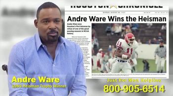 Mauro, Archer, O'Neill Law Firm TV Spot, 'Just For Men Lawsuit' Featuring Andre Ware