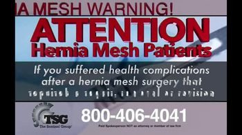 The Sentinel Group TV Spot, 'Hernia Mesh Patients' - Thumbnail 2