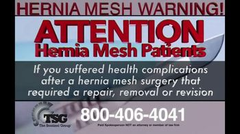 The Sentinel Group TV Spot, 'Hernia Mesh Patients' - Thumbnail 3