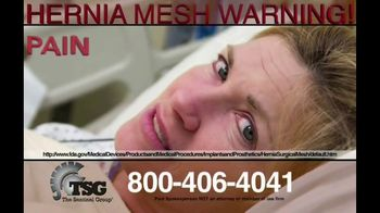 The Sentinel Group TV Spot, 'Hernia Mesh Patients'