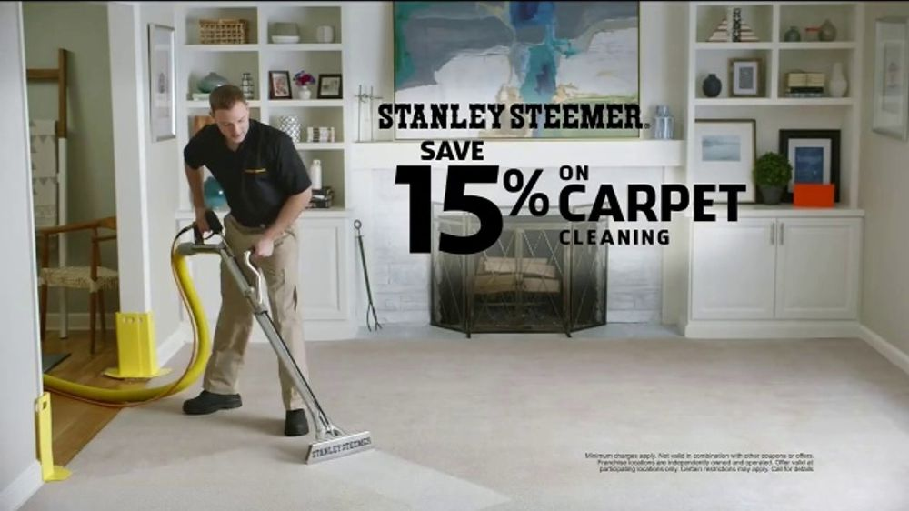 Stanley Steemer Carpet Cleaning Tv Commercial That S